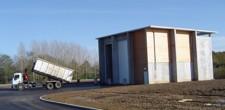 Un centre de transfert des déchets
