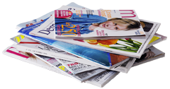 Catalogues, journaux, enveloppes...