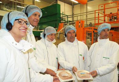 Visite de l'usine Fleury-Michon