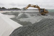 La construction d'une alvéole de Stockage à Tallud-Sainte-Gemme Photo F.Chappaz