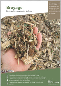 Fiche broyage, pour réduire les déchets végétaux