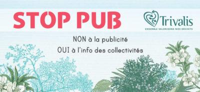 Autocollant Stop-Pub
