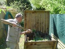 Aérer le compost
