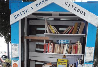 La givebox de St-Gilles-Croix-de-Vie