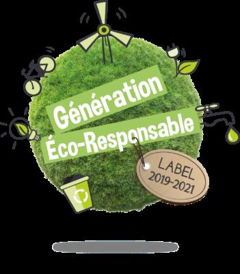 Logo Génération Éco-Responsable